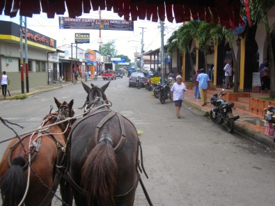 On our way to Mercado Municipal to buy some shoes in Masaya. September 20, 2014.