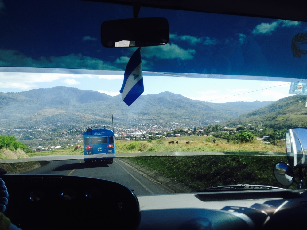 Nicadventuring, somewhere outside Matagalpa.