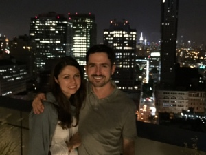 Our last night in the United States. Taken from a rooftop in Brooklyn.